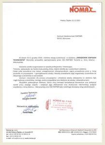 CSK partner_Referencje_opinie_Anna Adamus Matuszyńska_Nomax