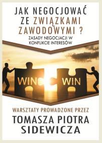 Negocjacje ze związkami zawodowymi_Tomasz Sidewicz_opis szkolenia
