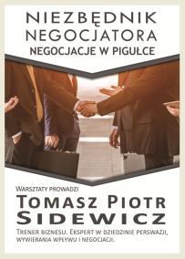 Negocjacje_Sidewicz_Negocjator_opis szkolenia