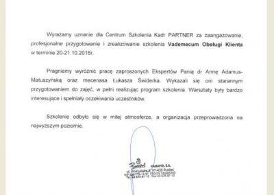 Referencje Łukasz Świderek_Pamapol