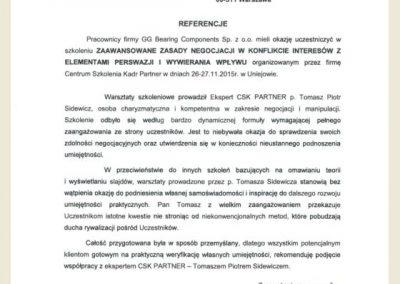 Referencje_Tomasz Sidewicz_szkolenie negocjacje_GG