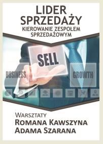 Lider sprzedaży_Roman KAwaszyn_Adam Szaran_opis szkolenia