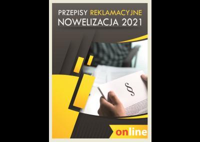 """Szkolenie ONLINE: PRZEPISY REKLAMACYJNE –  NOWELIZACJA 2021. PRZEDSIĘBIORCA """"UPRZYWILEJOWANY"""" W POSTĘPOWANIU REKLAMACYJNYM OD 01.01.2021R."""