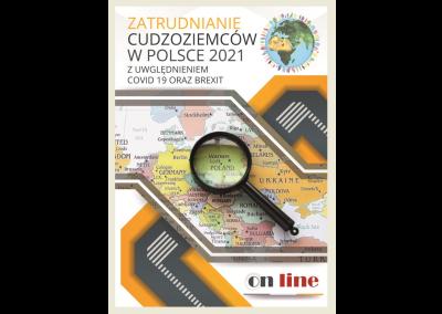 Szkolenie ONLINE: ZATRUDNIANIE CUDZOZIEMCÓW W POLSCE 2021. ZATRUDNIANIE CUDZOZIEMCÓW W PRAKTYCE Z UWGL. COVID 19 ORAZ BREXIT